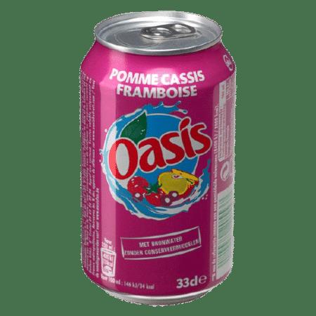 Oasis pomme cassis framboise Boissons & Desserts