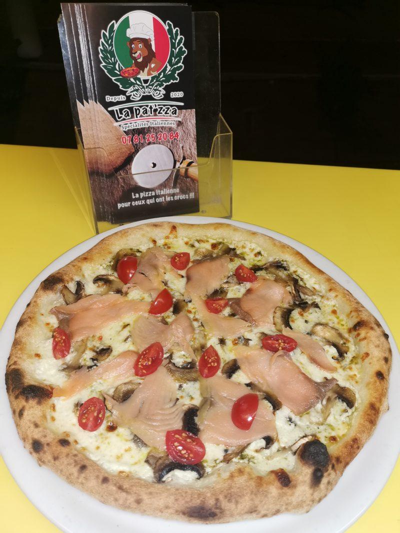 Al Salmon Pizza