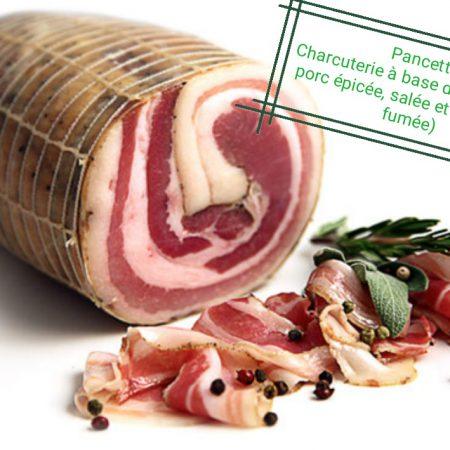 Pancetta Produits Italiens