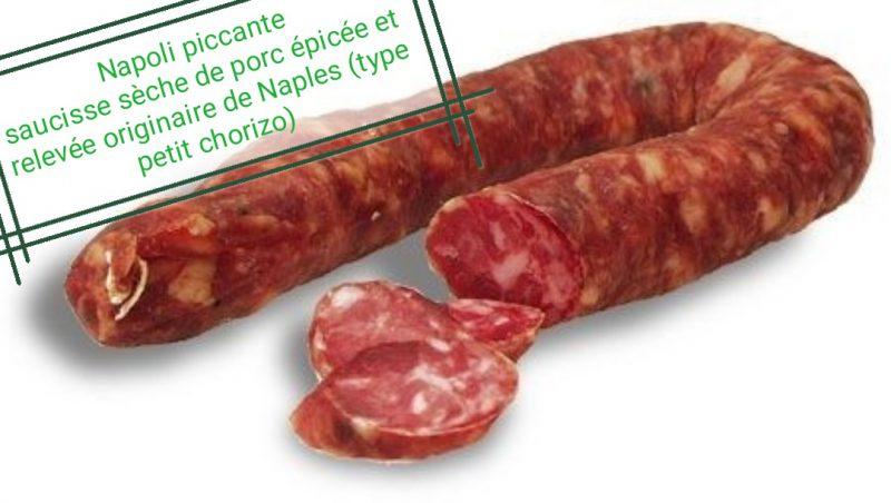 Napoli piccante Produits Italiens