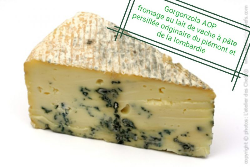 Gorgonzola AOP Produits Italiens