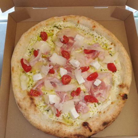 Al pesto Pizza